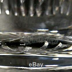 1 (One) WATERFORD CARINA Cut Lead Crystal Vase 9 in DISCONTINUED Signed