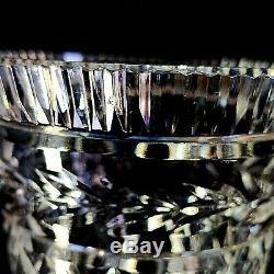 1 (One) WATERFORD GLANDOR Cut Lead Crystal 7 Vase Signed Vintage DISCONTINUED