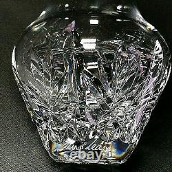 1 (One) WATERFORD GLEN Cut Lead Crystal Posy Vase Artist Signed O'Leary DISCONT