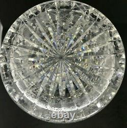 American Brilliant Cut Glass-Propeller By Parsche For Marshall Fields-Vase 12