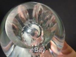 BACCARAT CRYSTAL Bud Vase 9.5 Cut/Faceted Teardrop Annick BUD VASE