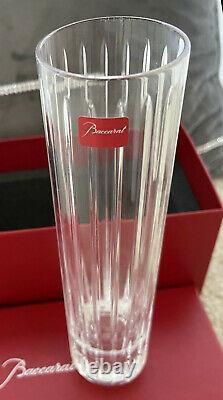 BACCARAT France HARMONIE 8 Cut Crystal French Art Deco Glass Flower Vase