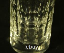 Baccarat Vintage Heavy Cut Cylindrical Crystal Vase France
