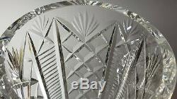 Beautiful Cut Crystal Heavy Waterford Clare Flower Vase 10 Tall