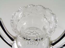 Beautiful Wmf & Cut Crystal Amphora Vase 1910