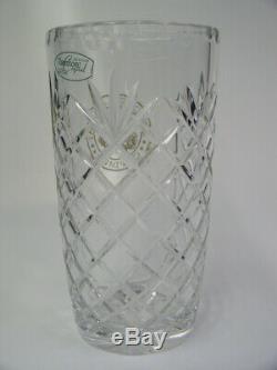 Camp David Presidential Retreat Large 8 5/8 Cut Glass Taunton 24% Crystal Vase