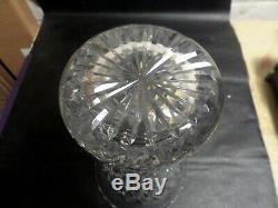 Cartier Cut Crystal 10 Vase