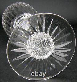 Exquisite Anglo Irish 9 Tall Cut Crystal Glass Celery Vase