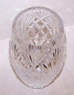 Exquisite Waterford Crystal Master Cutter Collection Beautifully Cut 10 Vase