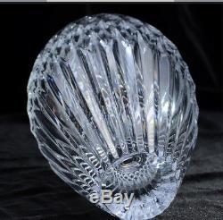 Faberge Cut Crystal Monplaisir Petite Vase 8 1/2