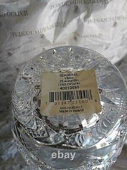 House of Waterford Seahorse Wedge & Diamond Cut Vase (10)