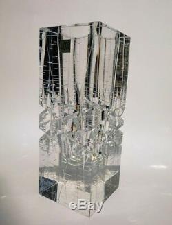 Hoya crystal hand cut vase