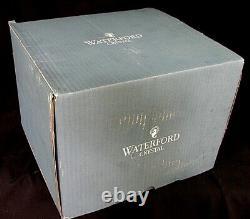 LARGE WATERFORD MARQUIS VASE CRYSTAL w ORIGINAL BOX