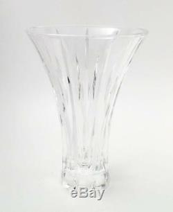 Marquis By Waterford Cut Crystal 9 Flared Sheridan Vase Contemporary Modern