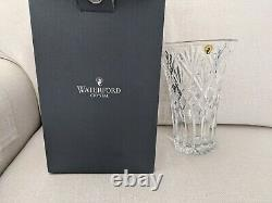 NEW in Box Waterford Cassidy Vase, 10 Cut Crystal