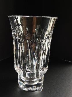 Orrefors, Olle Alberius, Cut Crystal Vase