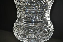 Rare Vintage Waterford Crystal Thistle 10 Cut Crystal Master Cutter Vase
