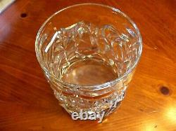 Tiffany & Co. Crystal Cut Ice Rock Champagne Wine Chiller, Ice Bucket, Vase Exc