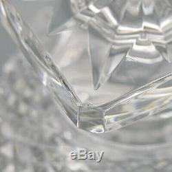 Vintage French Versailles Cut Crystal Urn Medici Vase by Saint Louis Signed