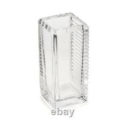Vintage Skruf Bengt Edenfalk Prism Cut Art Glass Vase