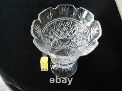 Vintage Waterford Master Cut 10 Footed Vase, Old Royal Obser, See Description