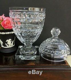 Vintage William Yeoward Cut Crystal Jar Vase