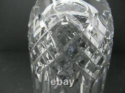 WATERFORD BALMORAL Pedestal Base VASE Cut Crystal Beautiful