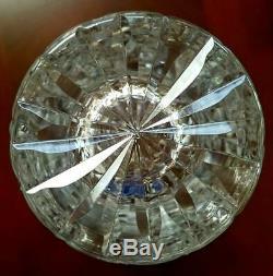 Waterford Crystal EARLY ERA 10 INCH VASE VERY BEAUTIFUL DEEPLY CUT TREASURE