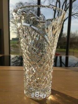 Waterford Crystal Medium Size Deep Cut Trophy Vase