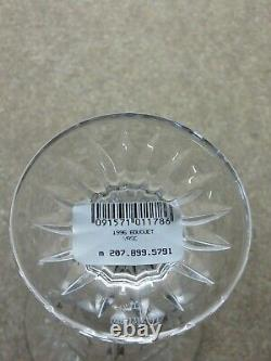 Waterford Crystal Mothers Day Cut Footed 1996 Bouquet Vase 5 3/4 Tall