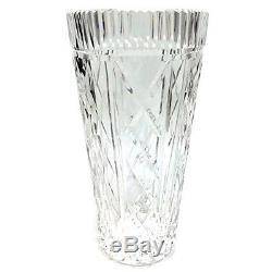 Waterford Crystal Vase Giftware Pattern Signed Decorative Cut Glass Floral 8