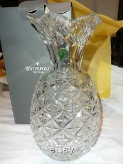 Waterford Cut Crystal 10 Pineapple Hospitality Vase MIB