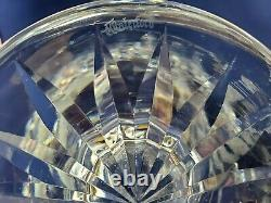 Waterford Cut Crystal LISMORE 10 Footed FLARED Flower VASE Signed MINT