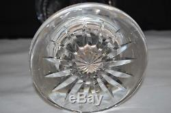 Waterford Millenium Series Cut Crystal 14 Footed Statement Vase